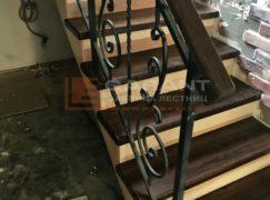 лестница деревянная п-образная