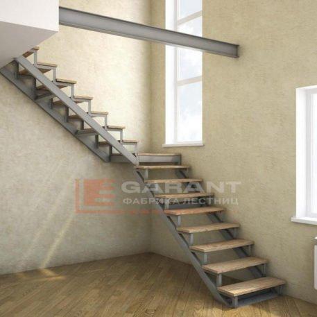 лестница угловая г-образная