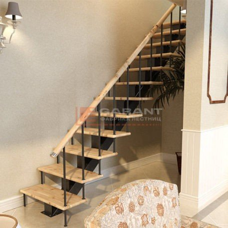 лестница на монокосоуре прямая