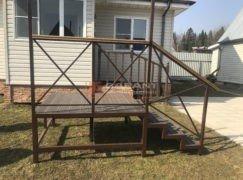 лестница на крыльцо с площадкой