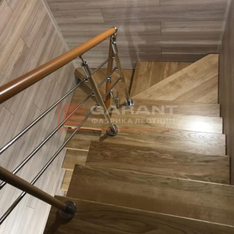 лестница п-образная с площадкой