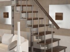 Модульная лестница Классик (прямой марш)