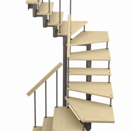 модульная лестница п-образная