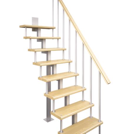 модульная лестница прямая
