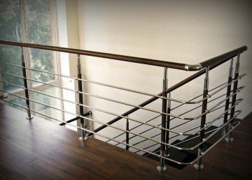 Ограждение лестниц