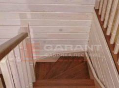 деревянная п-образная лестница