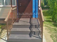 лестница на крыльцо с козырьком